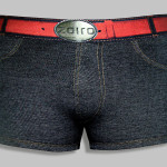 ZOIRO-DENIN-Trunk-Black-Front-Pose
