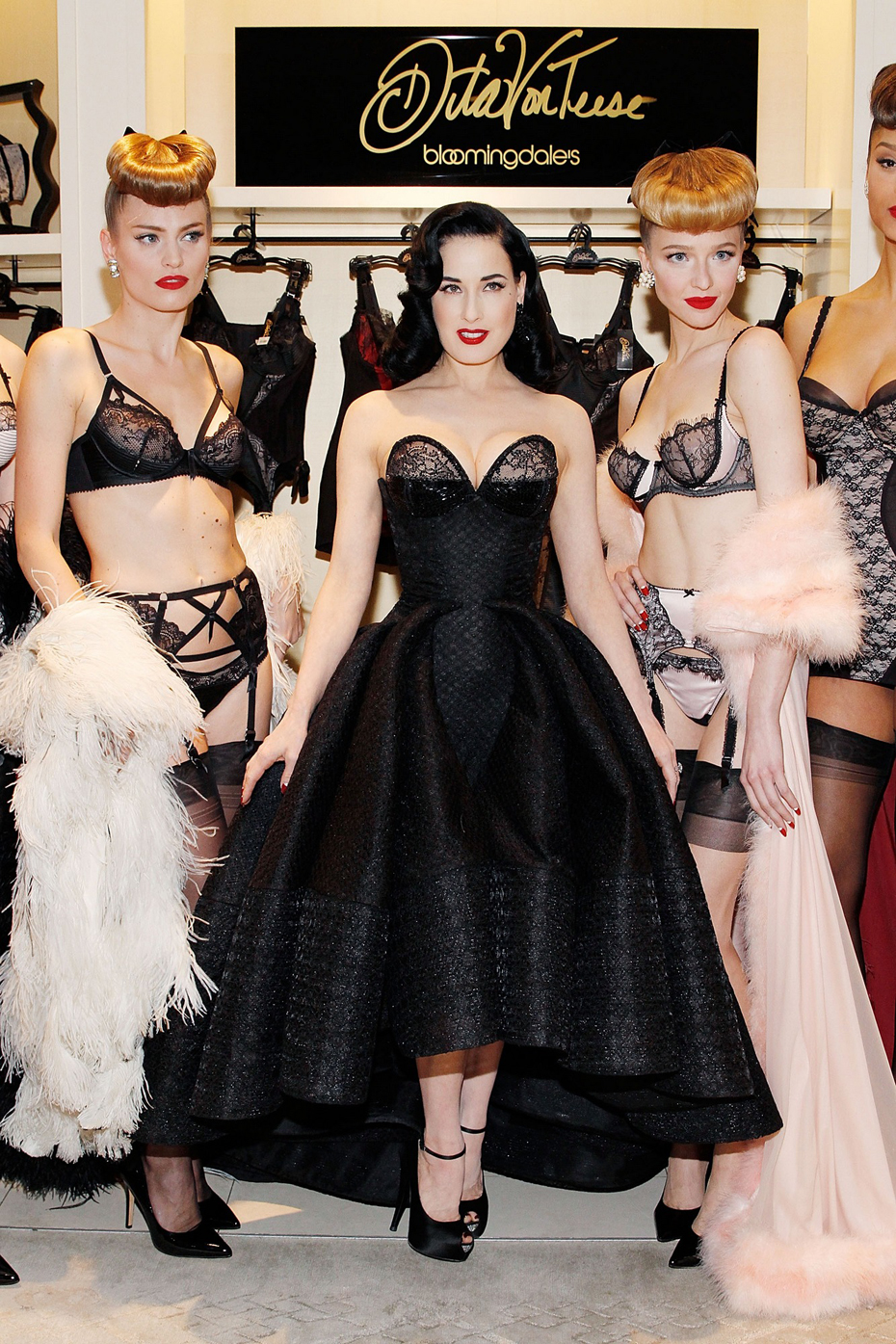 cb0dbdda6b58 Dita Von Teese launches lingerie collection - FFT - Spotting Trends