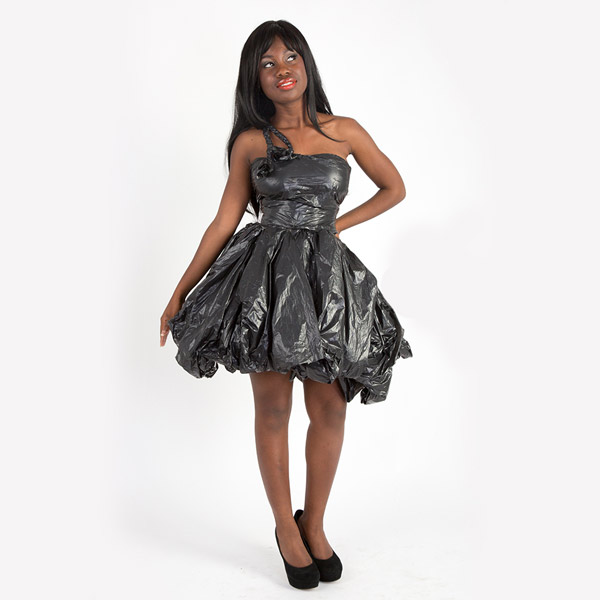 Diy Trash Bag Dress Tutorial How To You