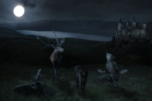 Severus Snape and the Marauders icxcmage_Fotor
