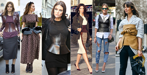 Street - case of corsets
