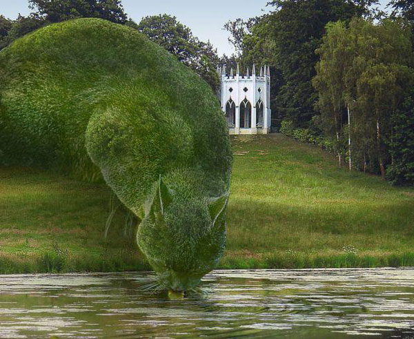 Internet Goes Gaga Over Topiary Cats Fft Spotting Trends